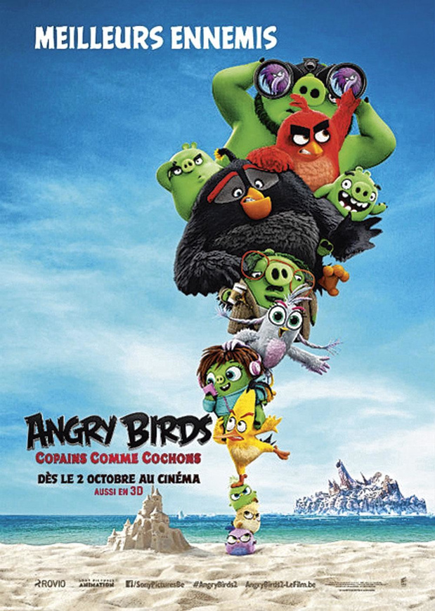 [Critique ciné] The Angry Birds Movie 2