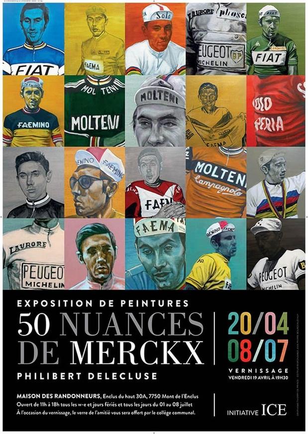 50 nuances de Merckx par Philibert Delecluse