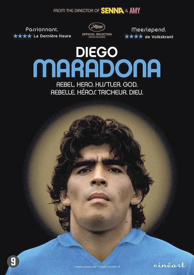 5x dvd Diego Maradona
