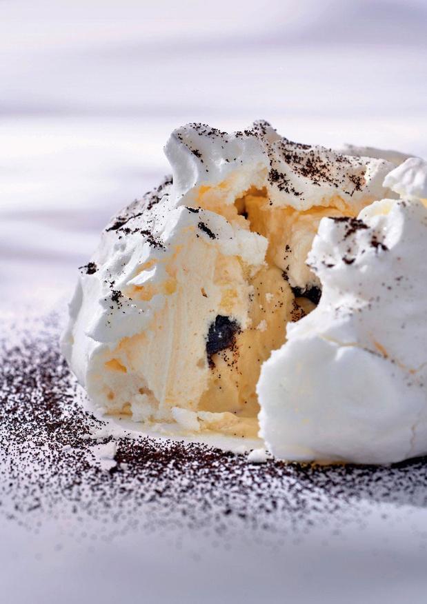 La meringue à la vanille