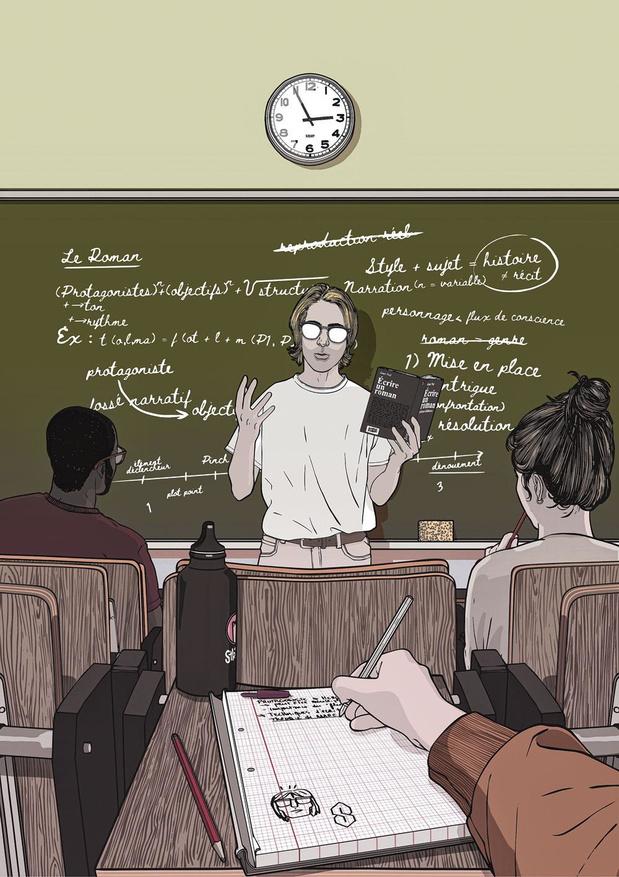 Peut-on apprendre à écrire un roman ?