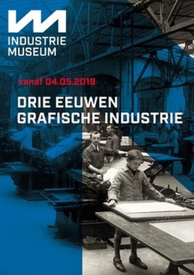 Drie eeuwen grafische geschiedenis in Industriemuseum Gent