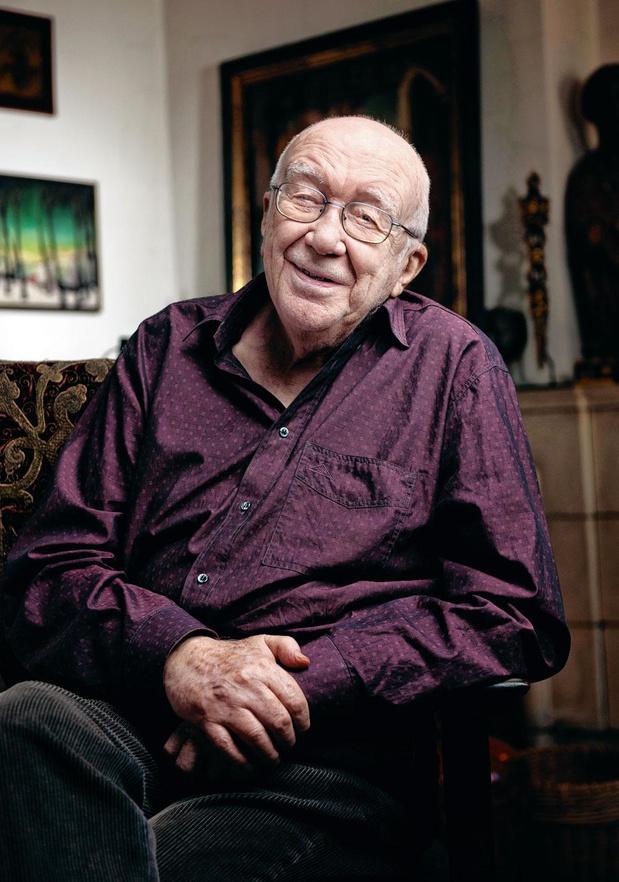 Henri Vernes est décédé: notre dernière rencontre avec le créateur de Bob Morane