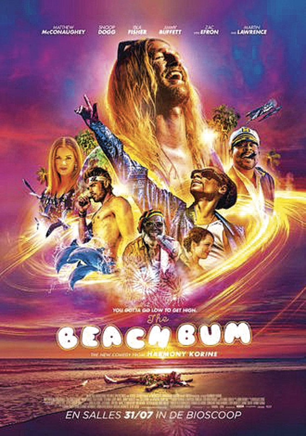 5x dvd The Beach Bum