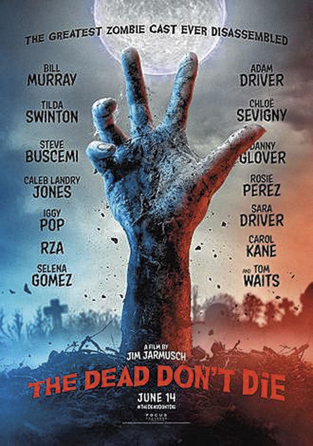 5x blu-ray The Dead Don't Die