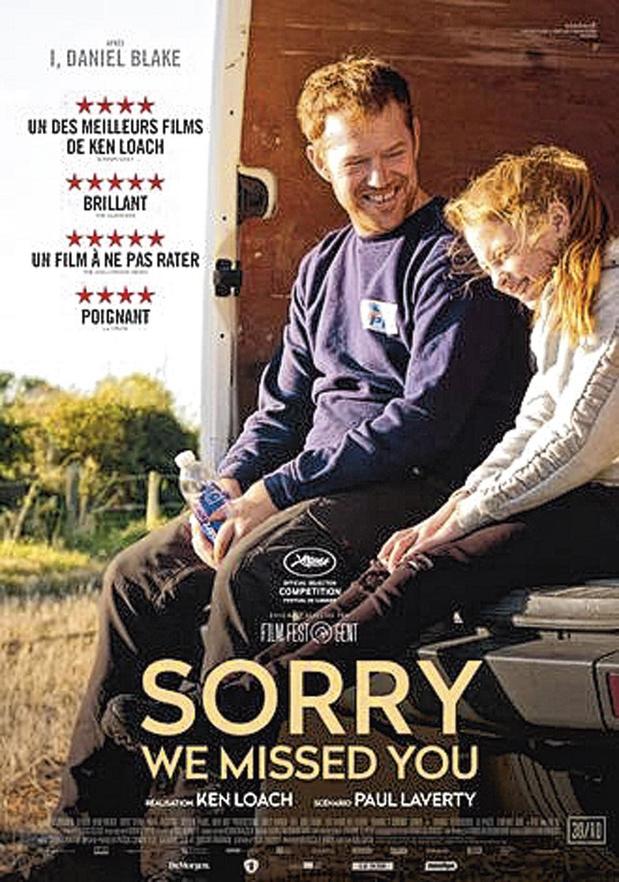 [Critique ciné] Sorry We Missed You, de Ken Loach