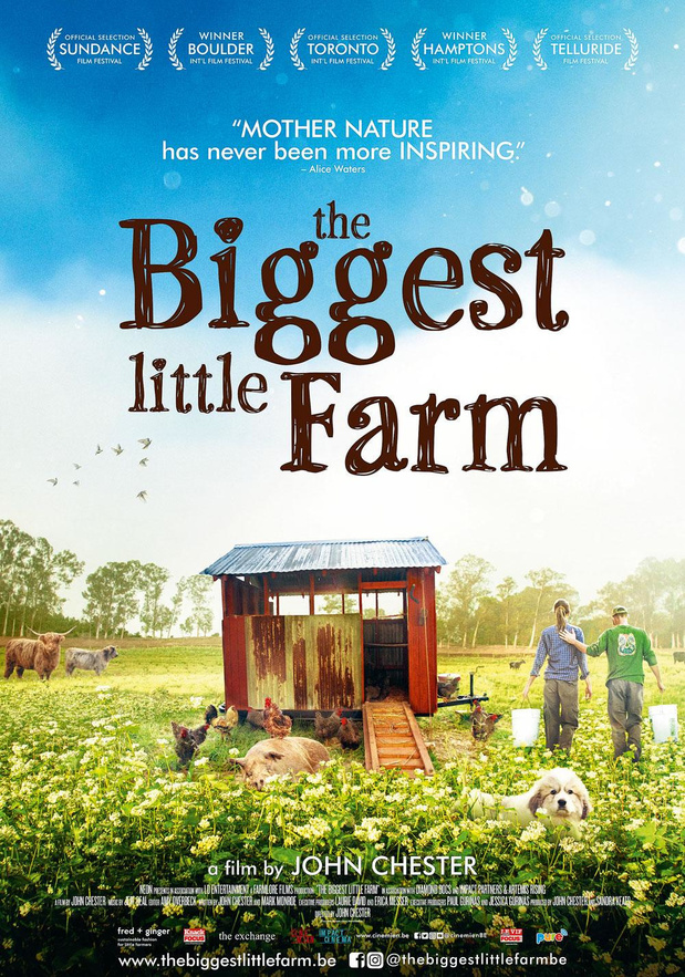 15x2 places pour The Biggest Little Farm