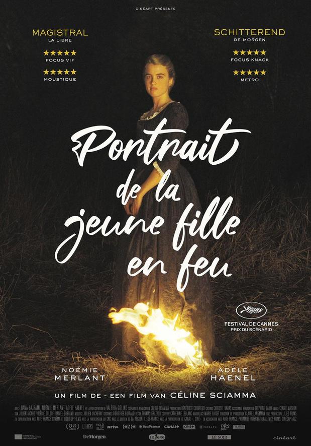 7/ Portrait de la jeune fille en feu De Céline Sciamma (2019)