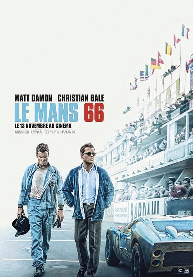[Critique ciné] Le Mans 66, un bien pâle divertissement