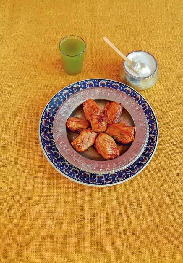 Recette: Oignons farcis - piyaz (sogan) dolmasi