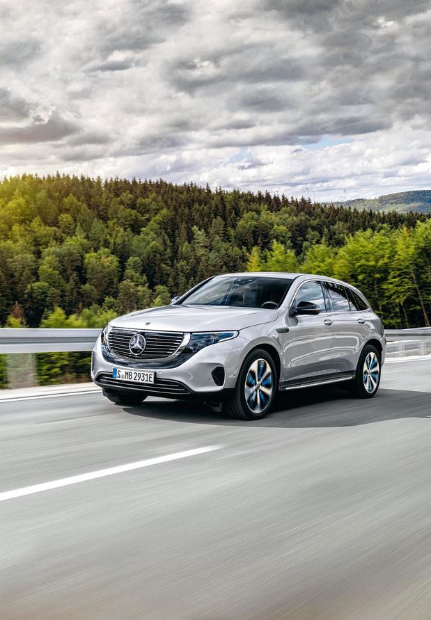 La Mercedes EQC, une étoile sous tension