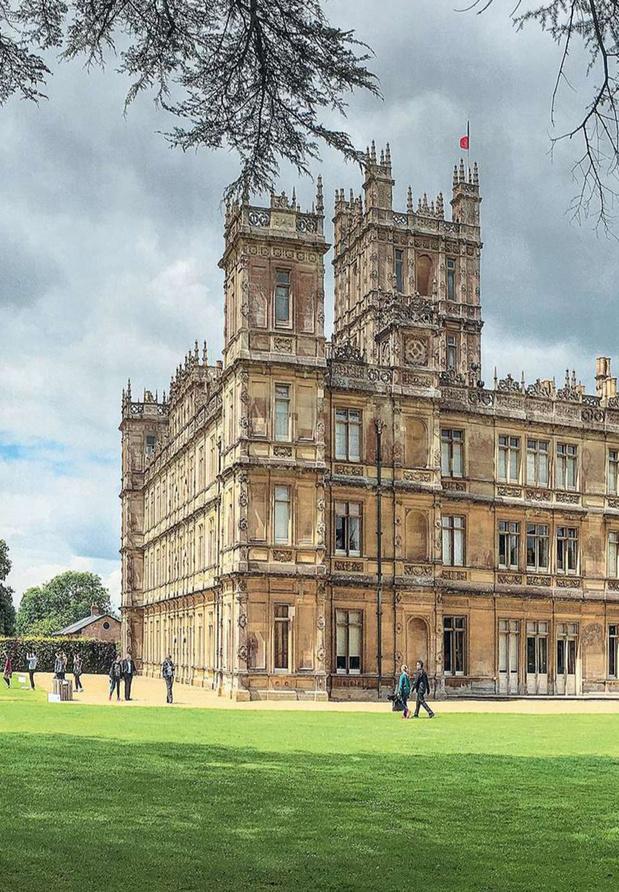 Terug naar Downton Abbey