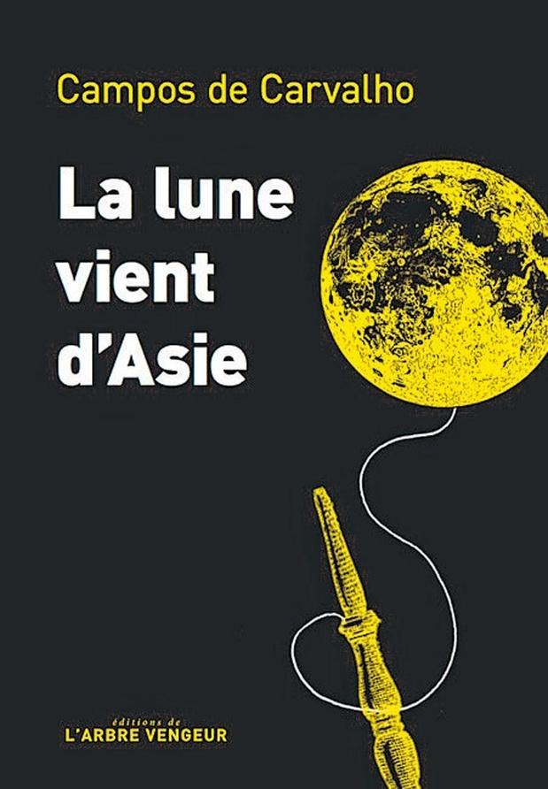 La lune vient d'Asie