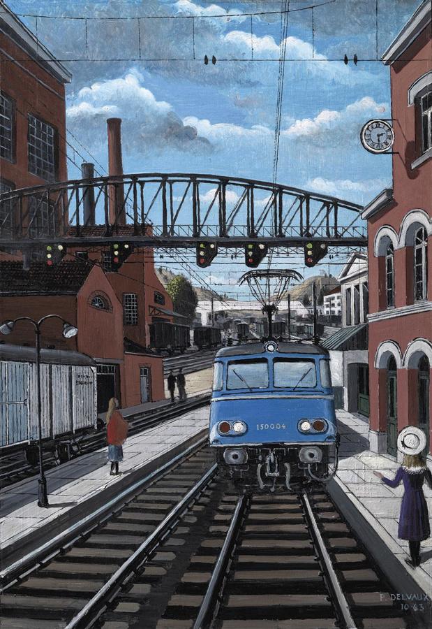 Tijdelijke Delvaux-tentoonstelling in Train World wordt verlengd