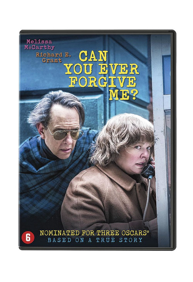 5x dvd Can You Ever Forgive Me?