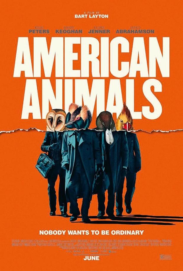 5x blu-ray American Animals