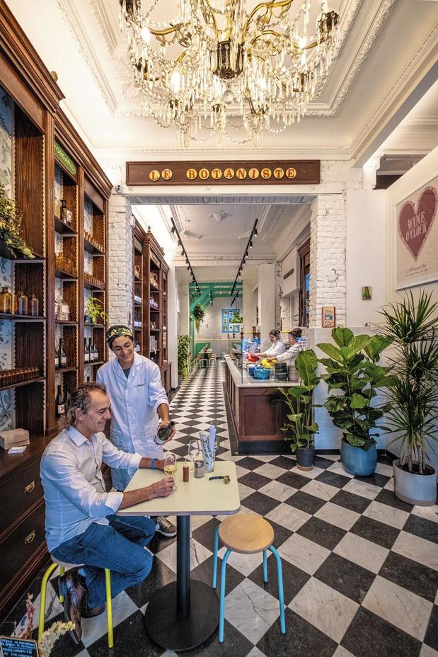 Voedsel als medicijn in restaurant Le Botaniste?
