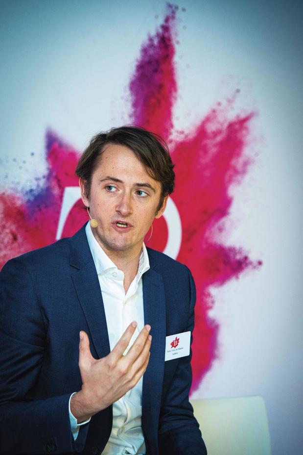 Felix Van de Maele (CEO Collibra): 'Een start-up begint als een piratenschip'
