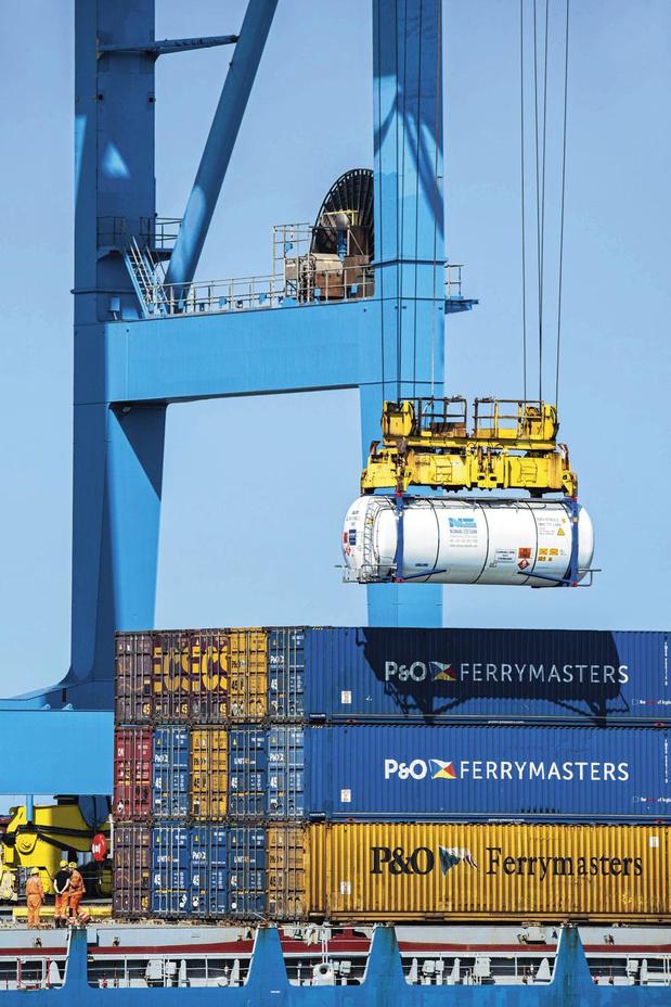 Le port de Zeebruges dispose de son propre réseau 5G