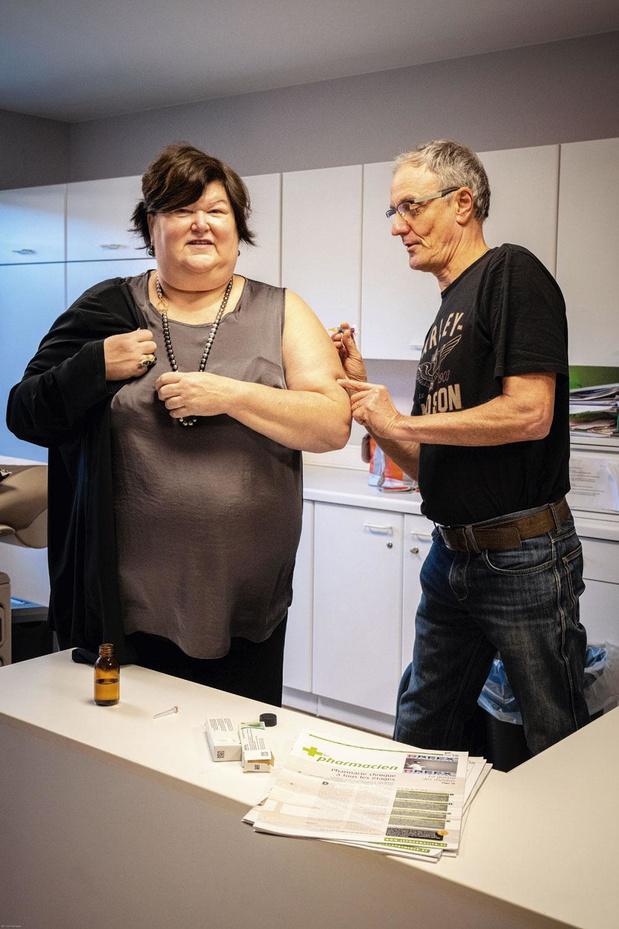 Le HarleyDoc vaccine la ministre De Block (et inversement)