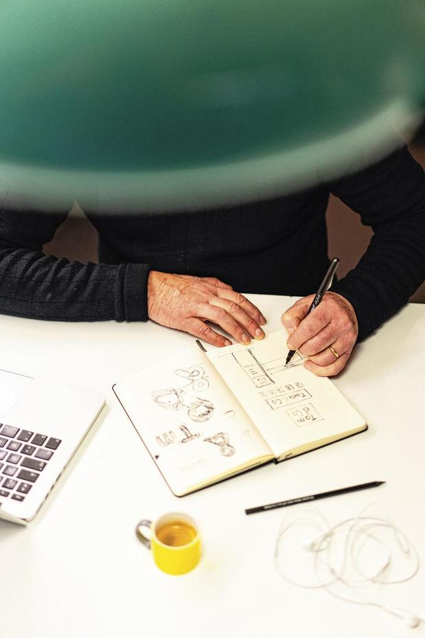 """Minale Design Strategy, le crayon des """"retailers"""""""