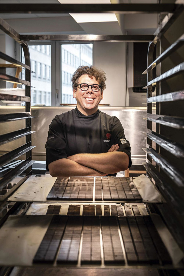 Laurent Gerbaud, un chocolatier au théâtre
