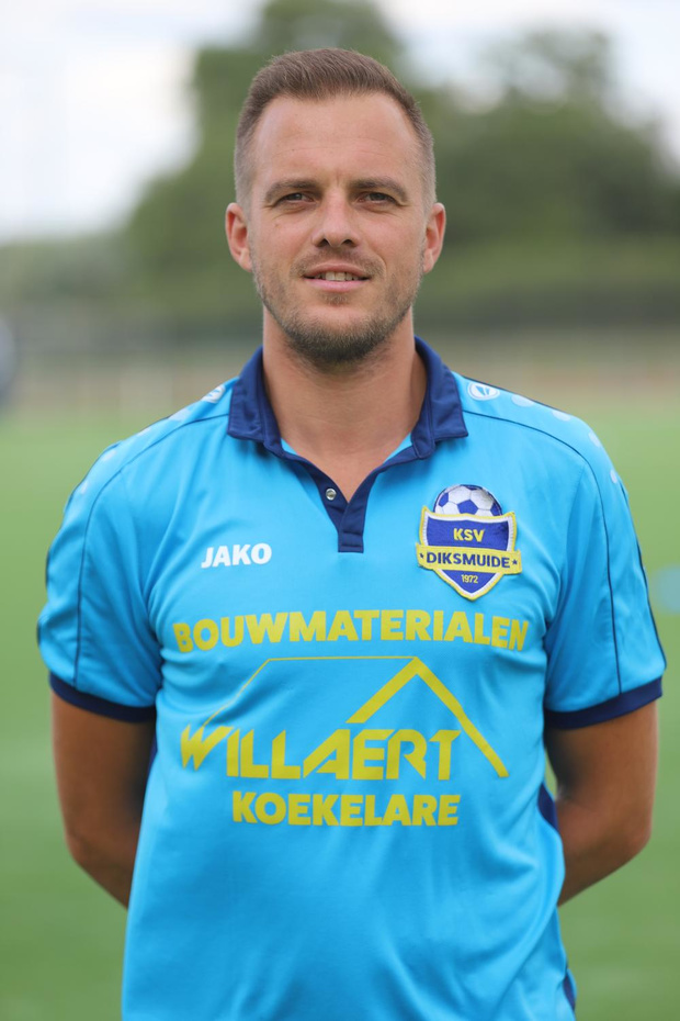 Nico Vandendriessche oppert voor kalmte bij KSV Diksmuide (2A)