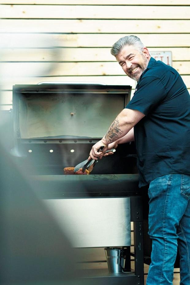 Rohan Hennebert est fan de BBQ à l'américaine