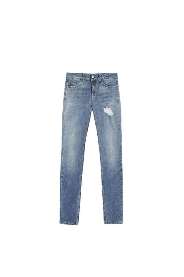 Groene jeans