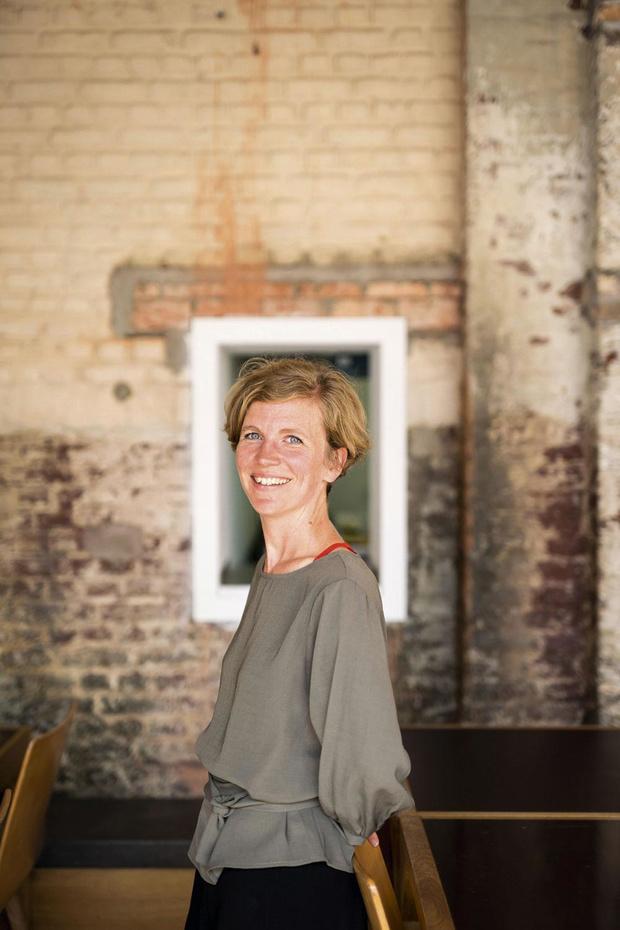 Portrait d'Audrey Contesse, le visage du nouvel Institut culturel d'architecture FWB