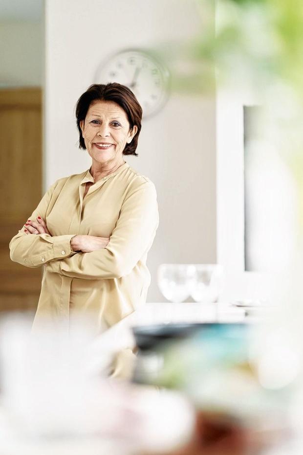 Marie-Do Descamps aide les Banques Alimentaires