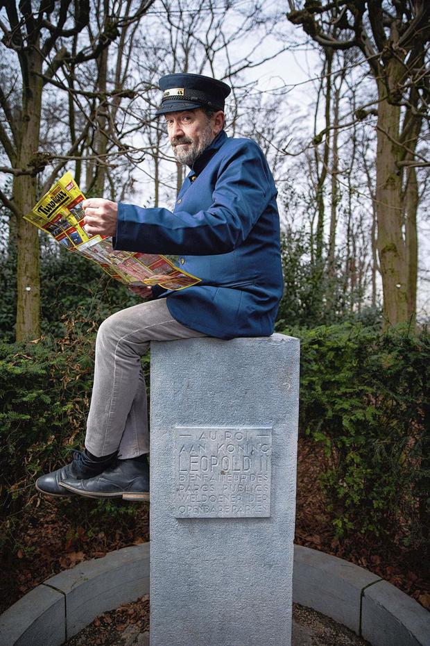 Jean-Michel Briou est guide des turpitudes bruxelloises