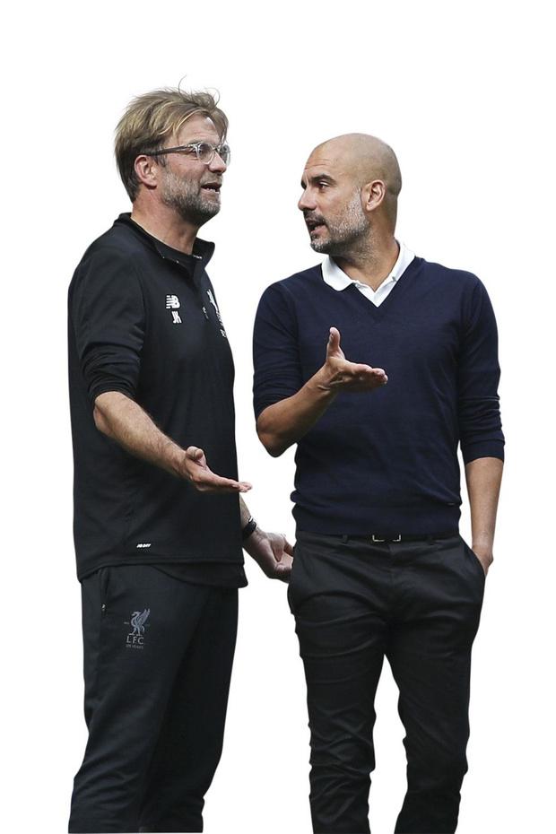 Meteen eerste clash tussen Klopp en Guardiola