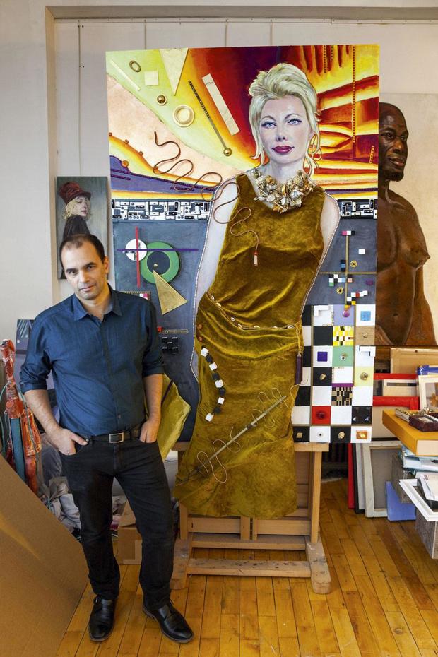 Le rêve américain de Serge Strosberg, peintre belge humaniste