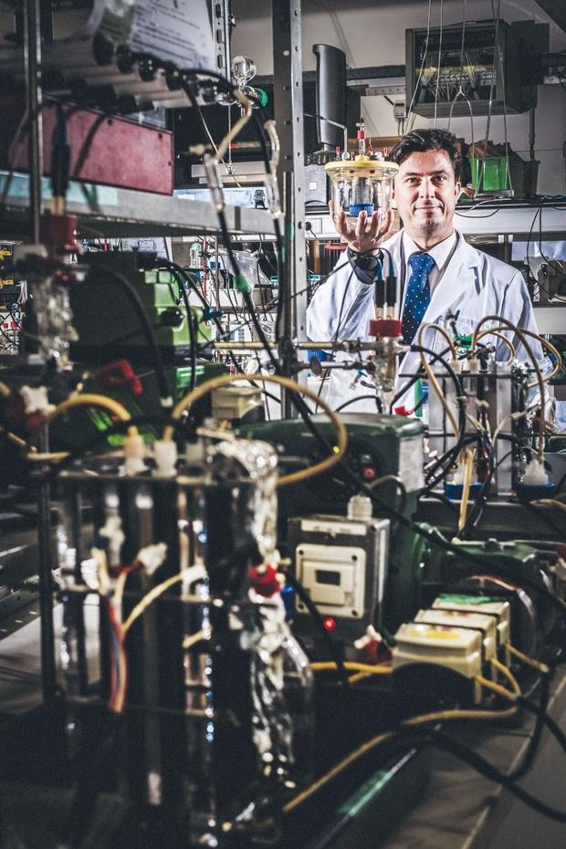 Bio-ingenieur Korneel Rabaey: 'Een gezin kan het water dat het verbruikt volledig zelf recycleren'