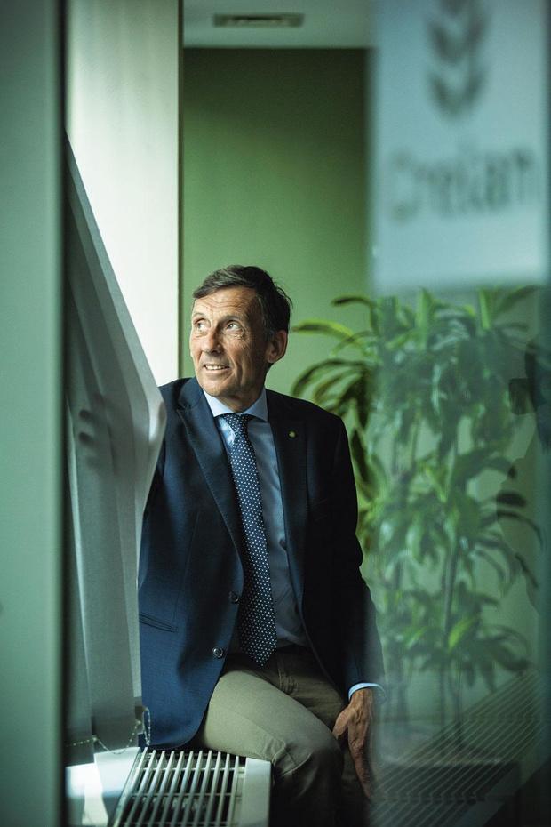 """Luc Versele, président du conseil d'administration de Crelan: """"Toutes les pièces du puzzle ont trouvé leur place"""""""