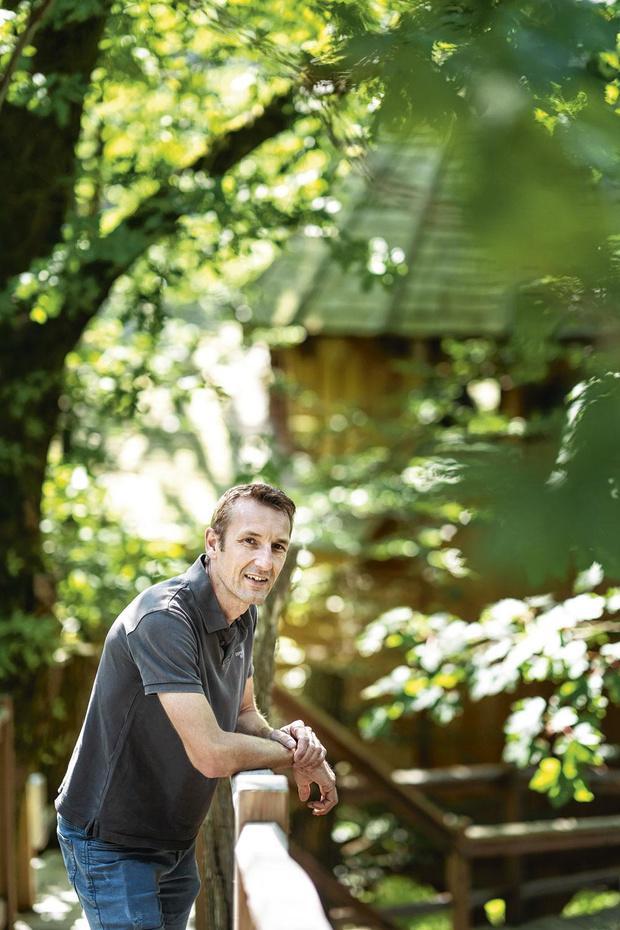 C'est ma vie: David Bavay est fan de cabanes dans les arbres