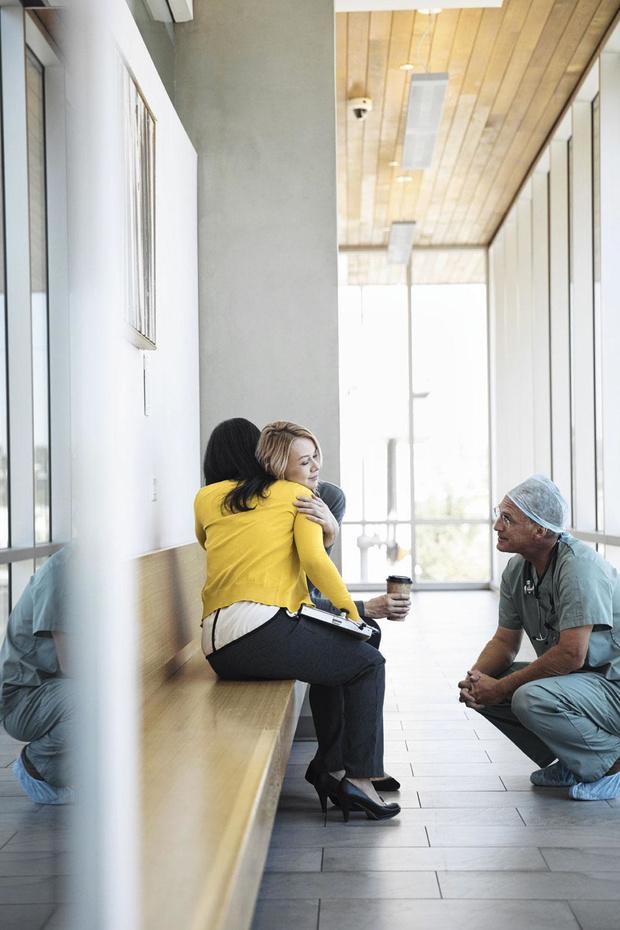 Als rolmodel voor de patiënten