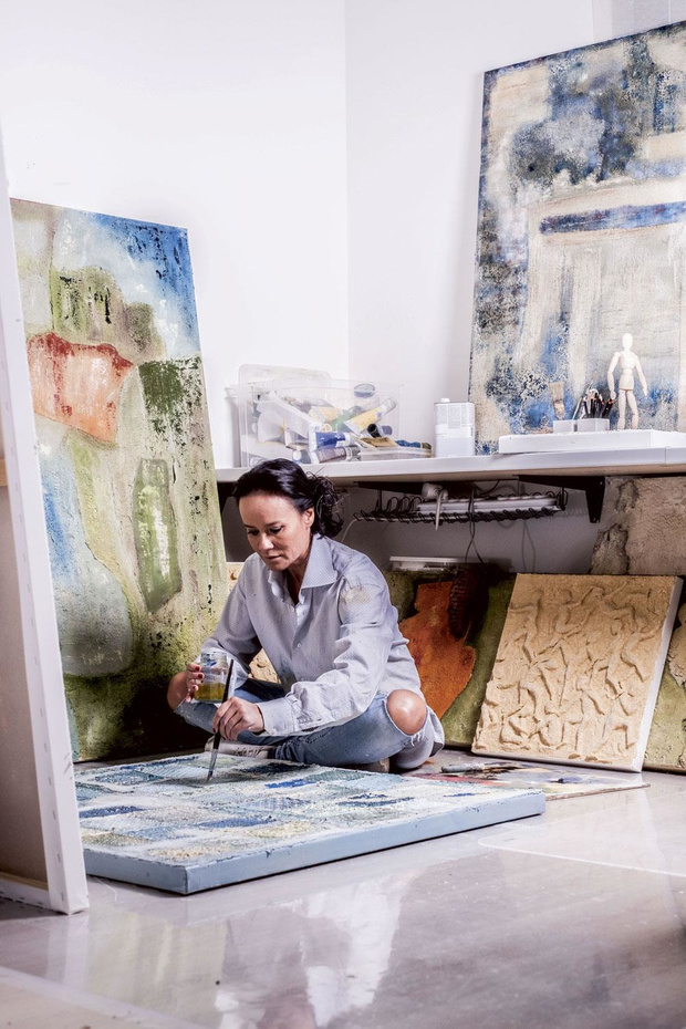 'Kunst maken is loskomen van alles'
