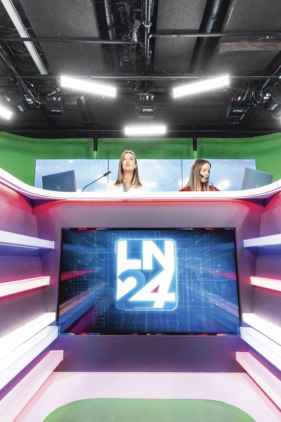 Les visages de LN24, la première chaîne belge d'info en continu (En images)