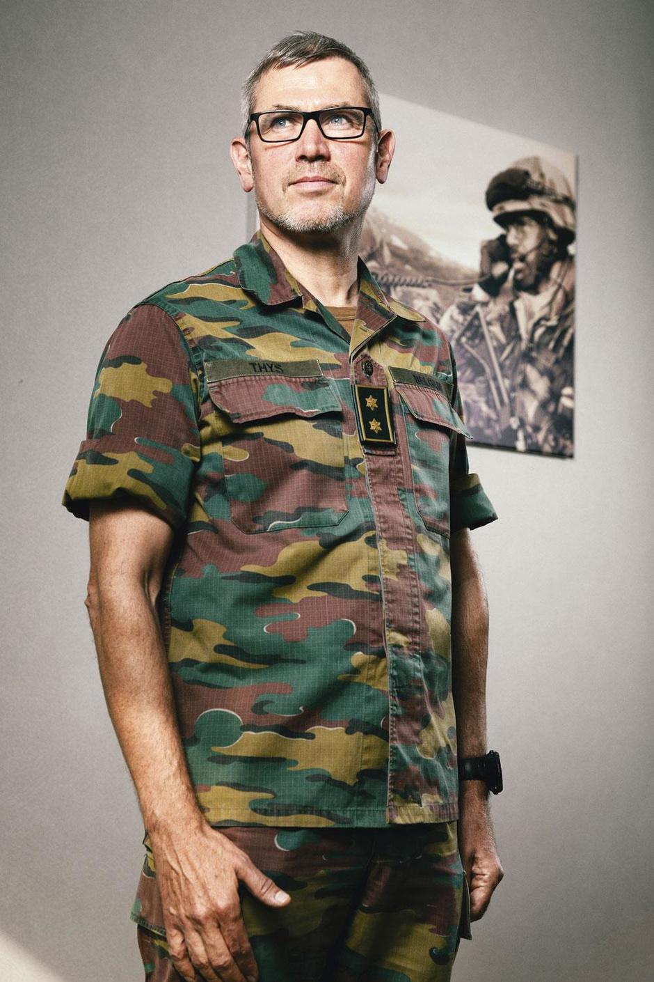 Marc Thys, crisismanager van het Belgisch leger: 'Een soldaat die niet betaald wordt, is gevaarlijk'