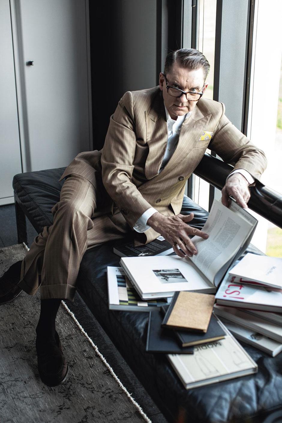 Rebel Ian Griffith, ontwerper van Max Mara: 'Met trends houd ik me niet bezig'