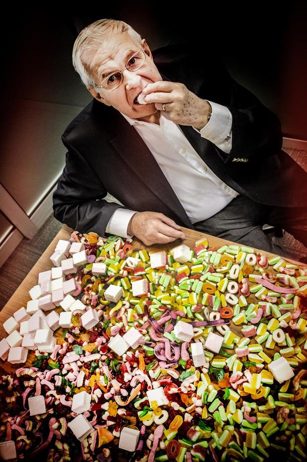 Wilfried Ameel uit Roeselare, de ongekroonde koning van de snoepwereld