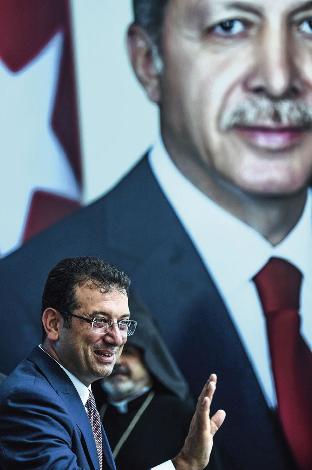 """Ekrem Imamoglu, le nouveau maire d'Istanbul : """"Ma victoire est un avertissement"""""""