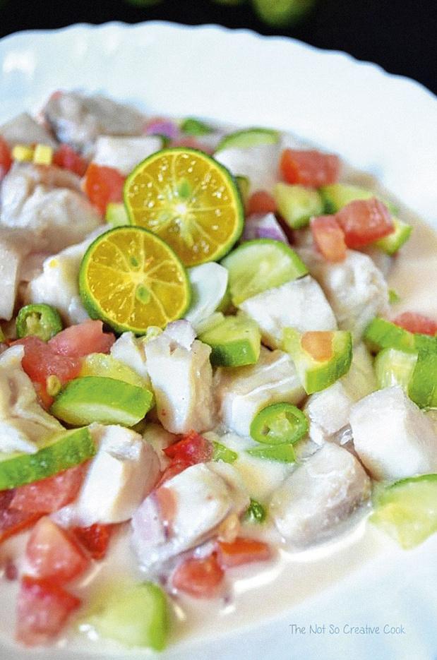 Le kinilaw, ceviche philippin qui met du soleil dans l'assiette