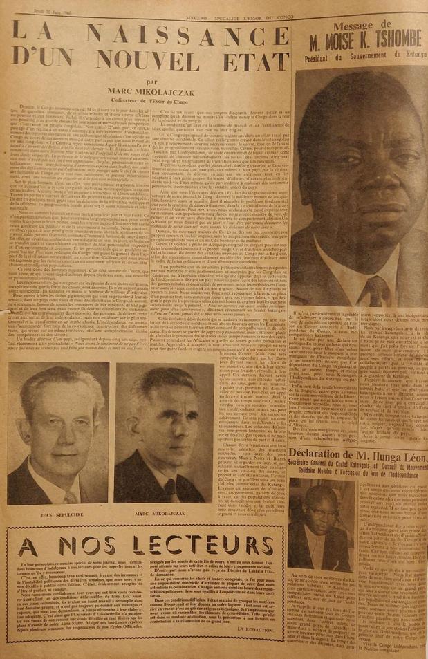Sincfala schenkt unieke koloniale krant aan het Afrikamuseum in Tervuren