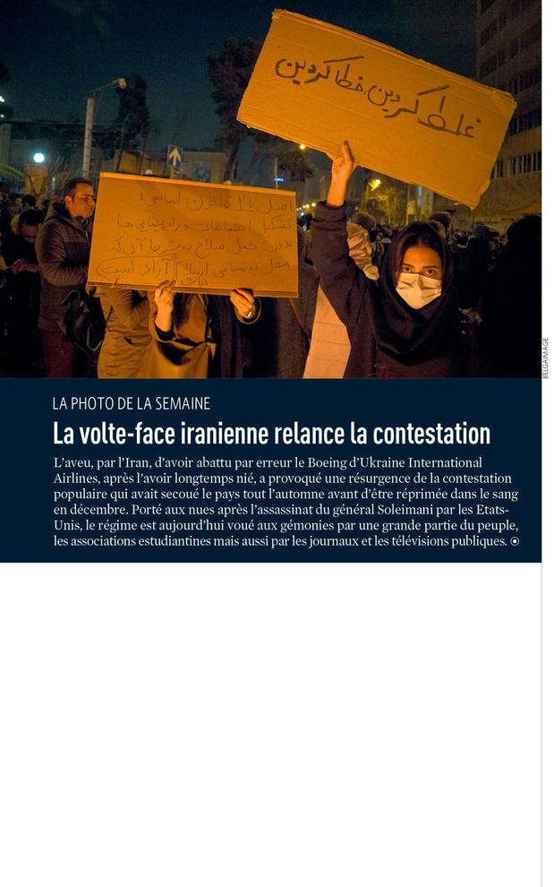 La volte-face iranienne relance la contestation