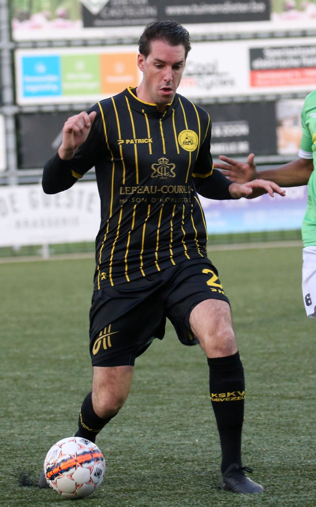 Vince Geryl (Torhout KM) stopt per direct als voetballer