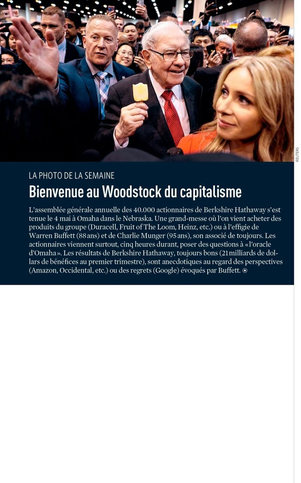 Bienvenue au Woodstock du capitalisme