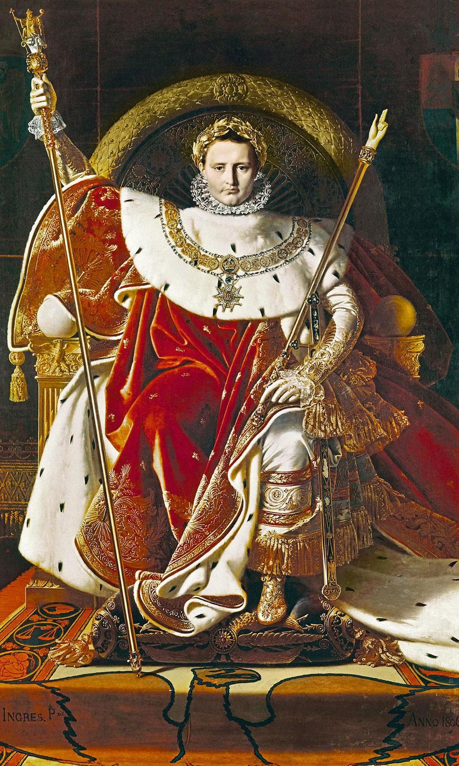 Van natuurkracht tot geestelijk verward: hoe Napoleon ten onder ging aan stress